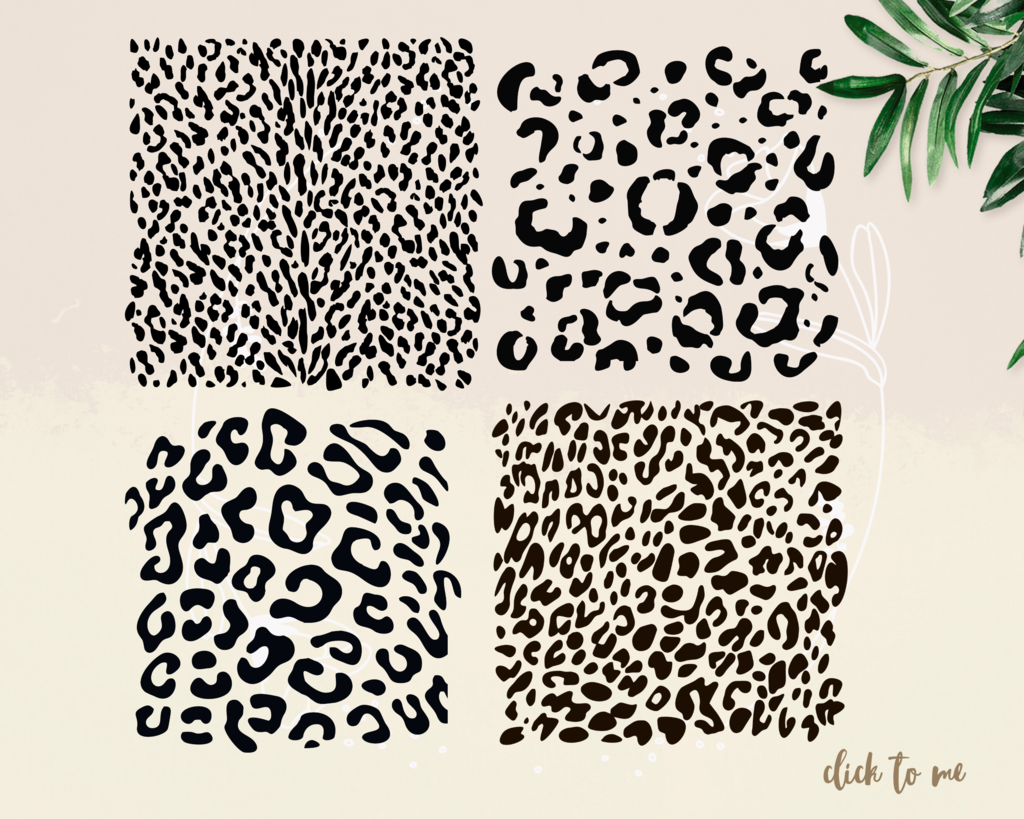 Download Leopard print svg BUNDLE ,fashion svg, cheetah print svg ...