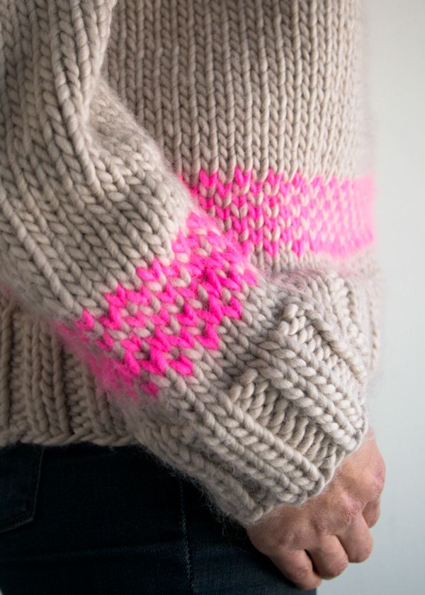 Laura's Loop: The Purl Soho Friendly Fair Isle Sweater - The Purl ...