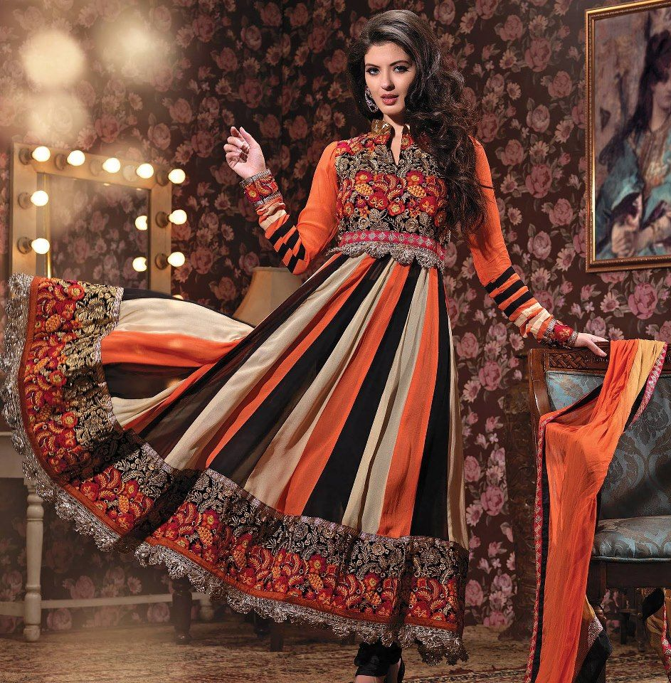 sharara trousers with anarkali - Google Search