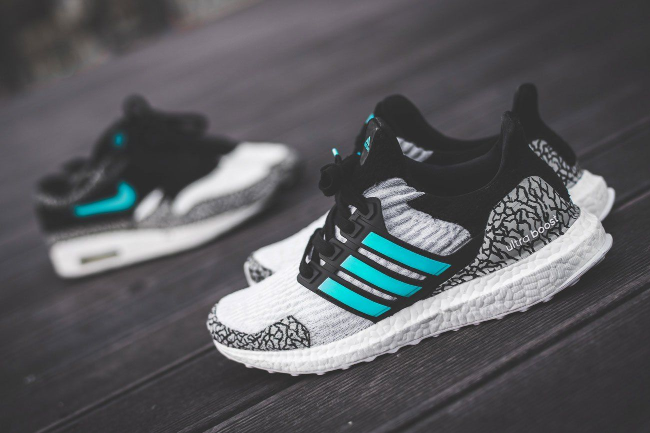 adidas ultra boost atmos custom sneakers pinterest. Black Bedroom Furniture Sets. Home Design Ideas