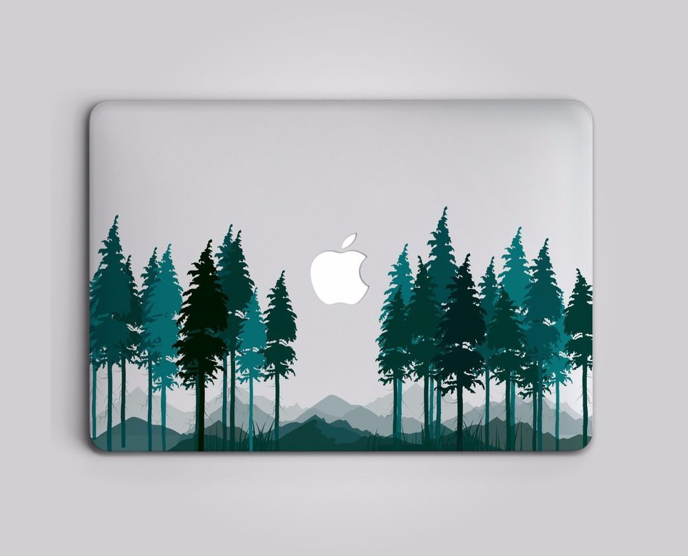 a9429c43e0885 Forest Mountains Hard Case Cover For Macbook Pro Air 11