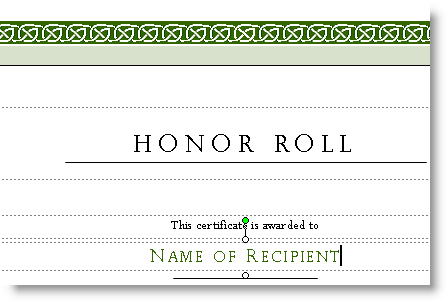 Microsoft Publisher Award Certificate Templates I Believe This Is