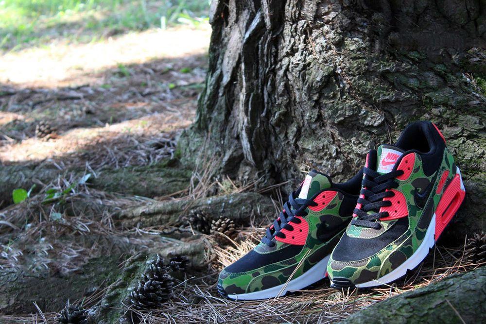 Nike Air Max 90 Premium Duck Infra Camo *atmos Exclusive ...