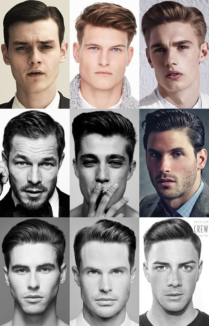 Mens Classic Quiff Hairstyles Lookbook Fashion Sense Hair