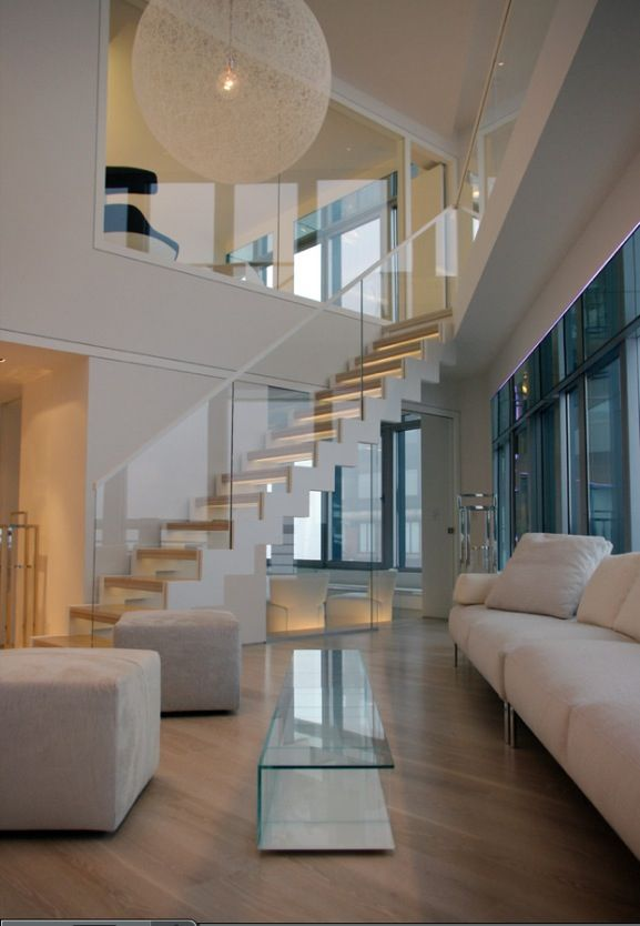 Love This Modern Staircase Look Ideas For The House