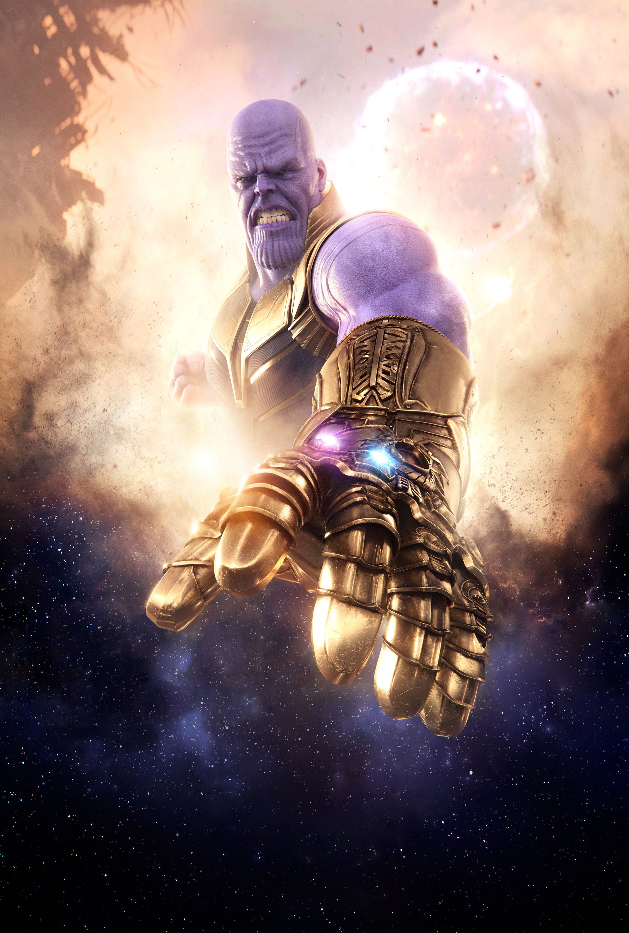 Avengers Infinity War Thanos Mobile Hd Wallpaper In
