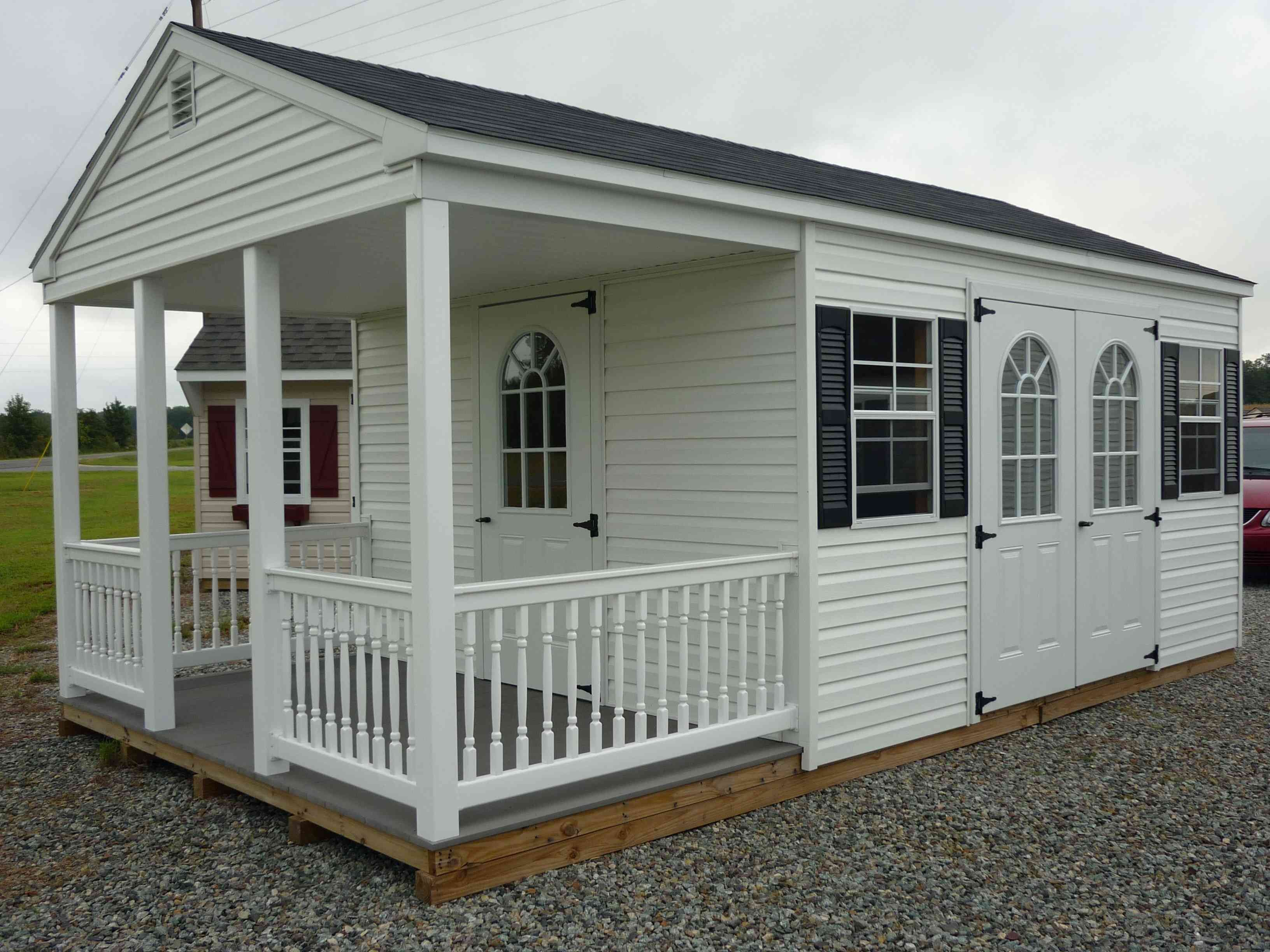 Shed roof house plans the a frame shed with optional porch
