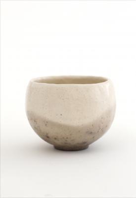 White tea bowl - Hideki Yanashita