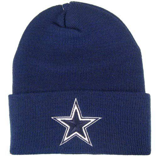 NFL Reebok Dallas Cowboys Navy Basic Knit Beanie - http   bignbastore.com 73d94cd916d6
