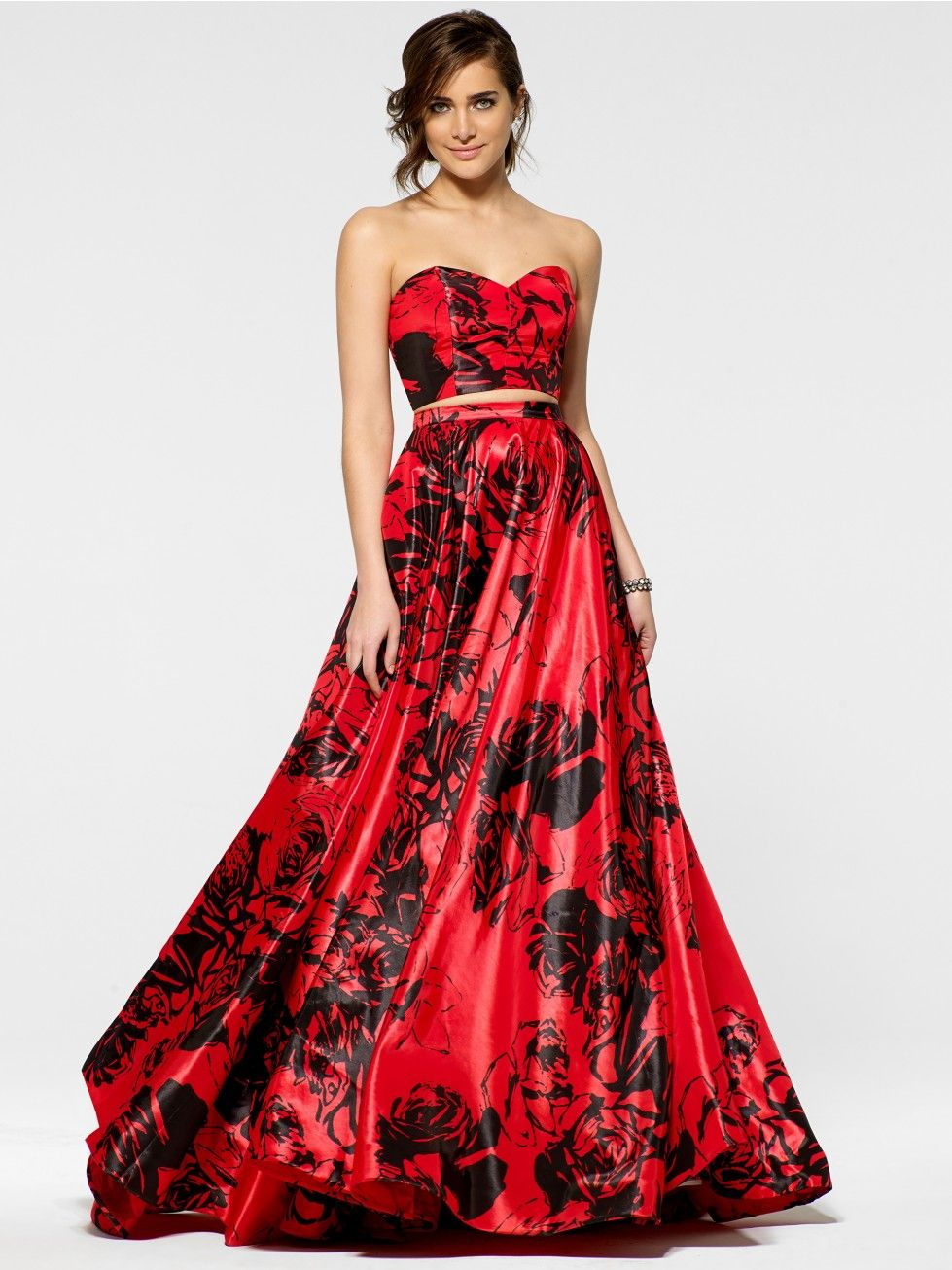 Black and Red Ball Gown - Gowns - Dresses | Valentine\'s Day ...