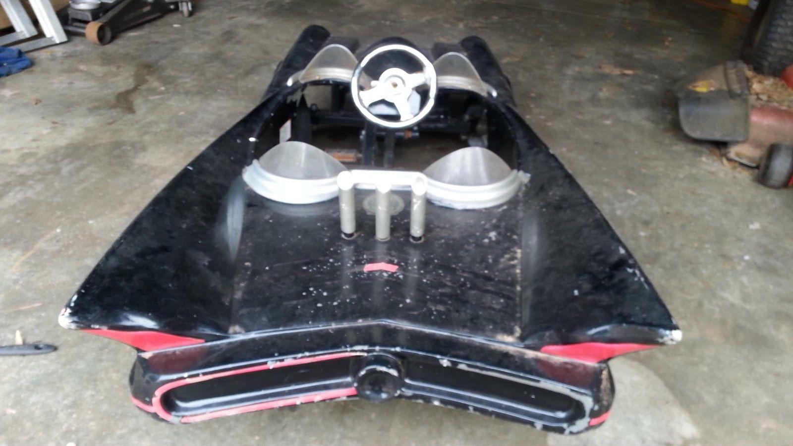 Rare Barn Find Batman 1966 Batmobile Fiberglass Pedal Car