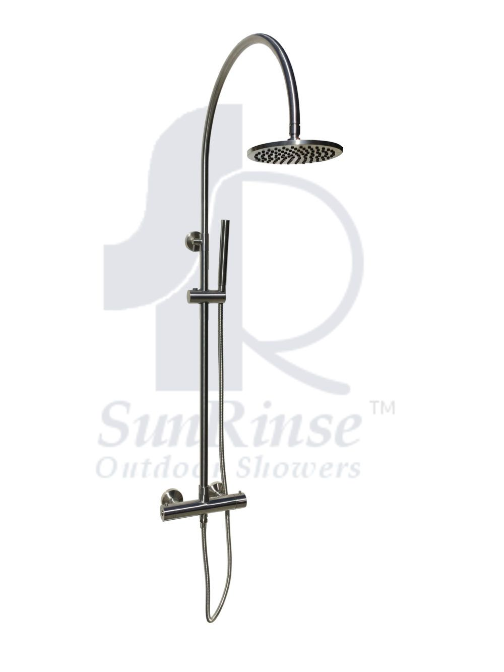 Outdoor Shower Fixture And Accessories Sunrinse Outdoor Showers