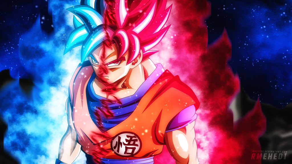 Goku Super Saiyan Blue Kaioken By Rmehedi Dragon Ball Super Manga Goku Super Saiyan Blue Dragon Ball Art
