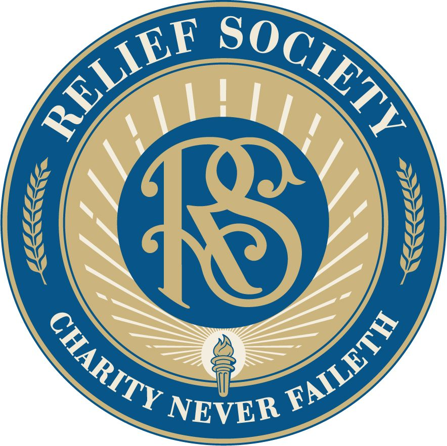 mormon share new relief society seal relief society churches rh pinterest com relief society clip art images free lds relief society clip art