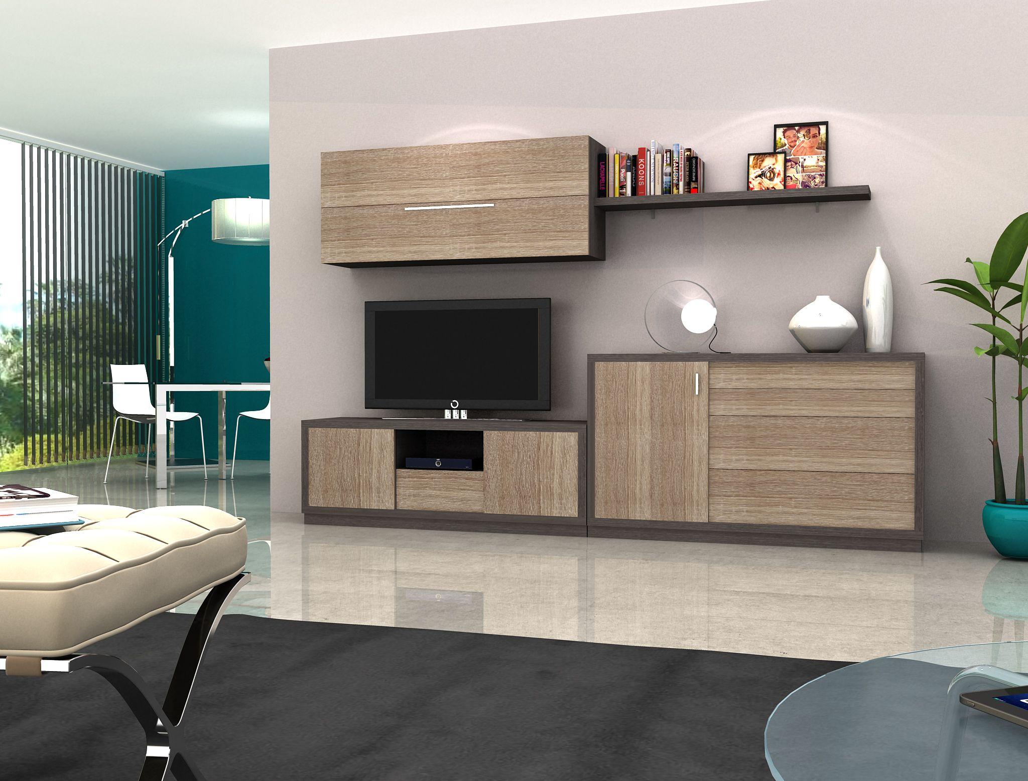 Sal n tamara mueble modular de daicar mobel sal n tamara for Muebles daicar