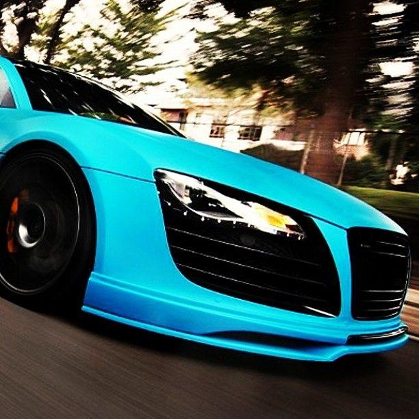 Electric Blue Audi   My Dream Car!