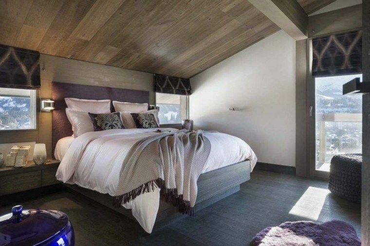 Deco Berghütte: 99 Ideen für das Schlafzimmer   Schlafzimmer ...