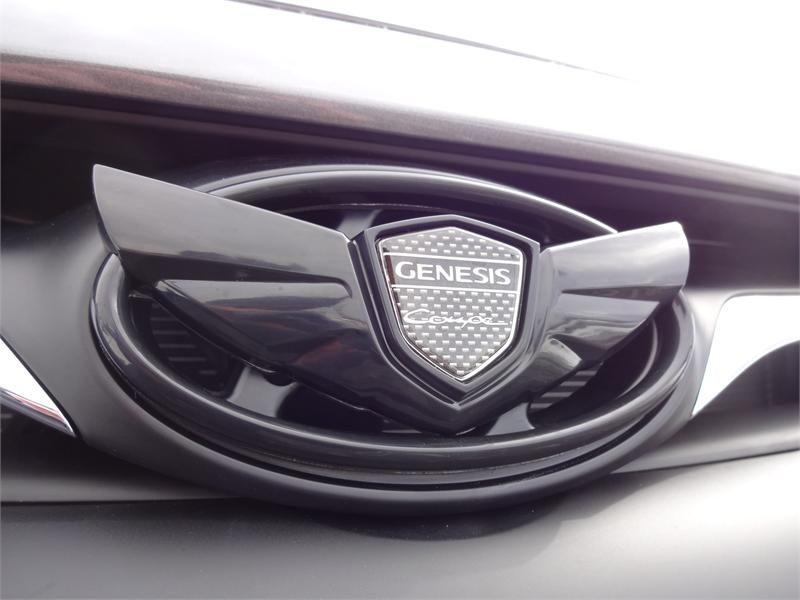 Superb Hyundai Genesis Coupe Wing Emblem Kit   Gloss Black (G041)   Hyundai Genesis  Coupe