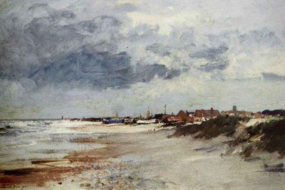 Image result for paintings and artwork Norfolk coastline by Edward Seago