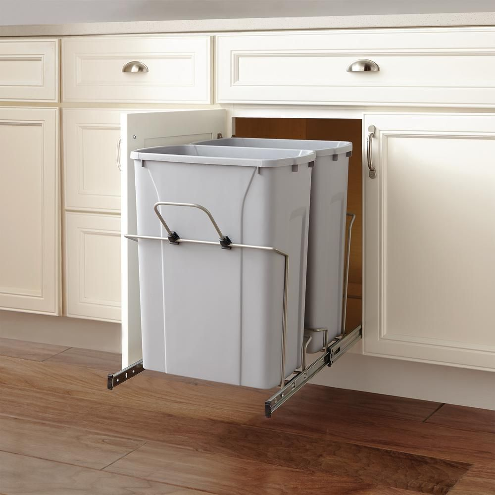 Pin By Christina Gallagher On Kitchen In 2020 Trash Can Hidden Trash Can Kitchen Home Decorators Collection
