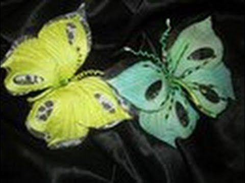 Открытка «Бабочка на цветке» » Сделай сам 64