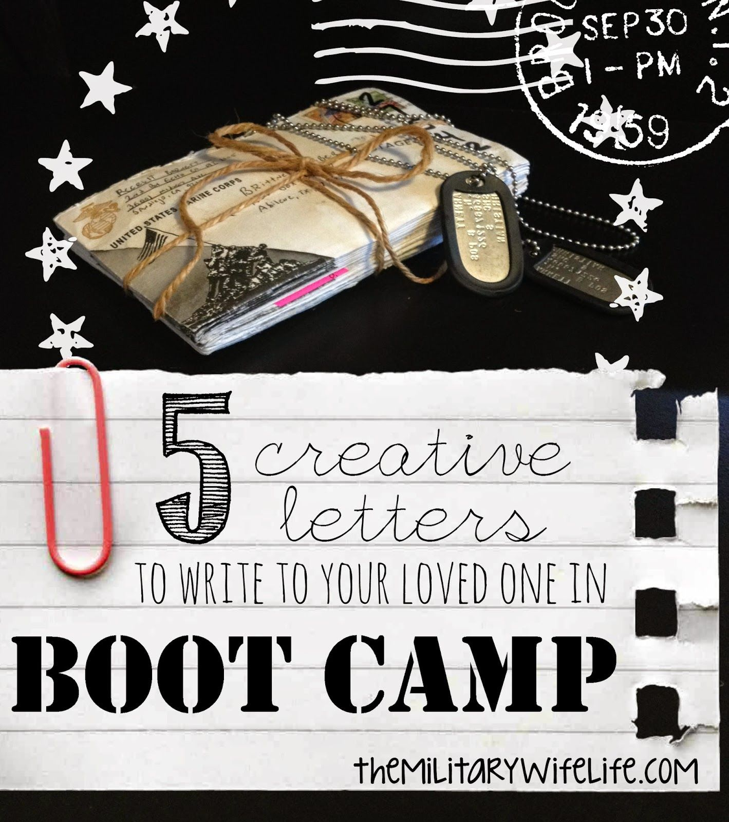 The Military Wife Life 5 Creative Letters