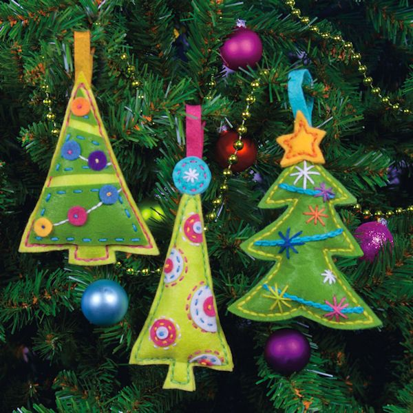 Dimensions - Cheery Tree Ornaments - Cross Stitch World Merry