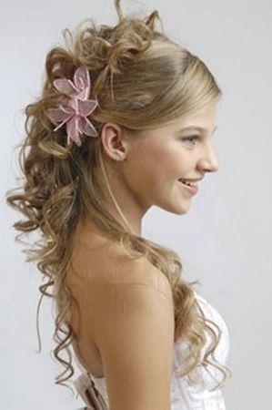 peinados para fiestas semirecogidos escandalosos - Peinados De Fiesta Semirecogidos