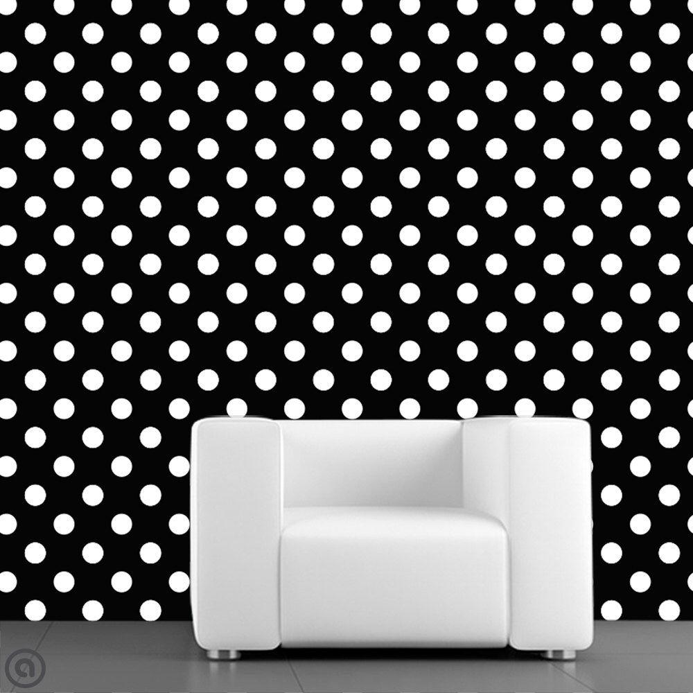 removable wallpaper polka dots peel u0026 stick self adhesive fabric temporary