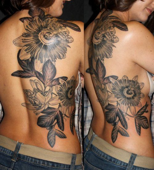 Passionate Anxiety Tattoo For Women: Botanical Tattoo Inspiration
