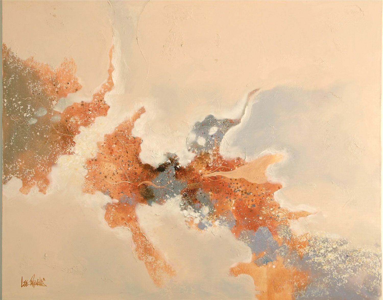 Abstract Painting - Art Mid Century Oil