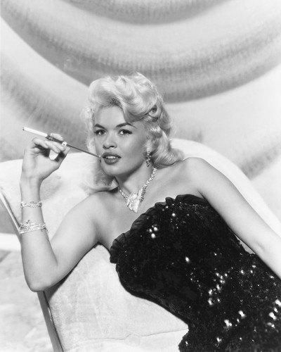 Jayne mansfield b w 8x10 photograph jayne mansfield for How old was jayne mansfield when she died