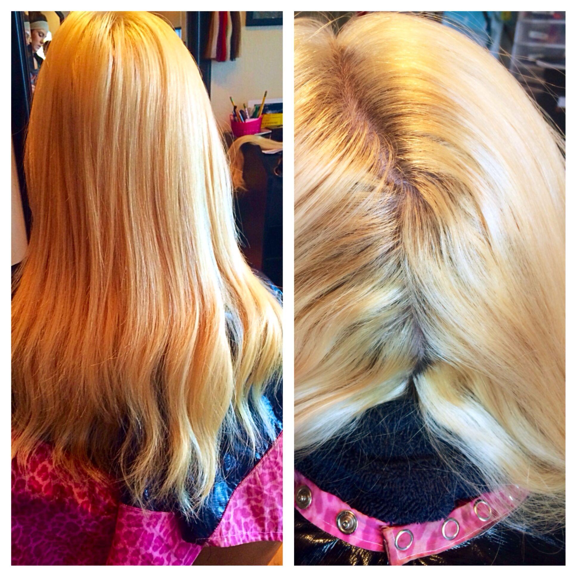 Bad Bleach Job To Hair Photo Hair Creations Long Hair Styles