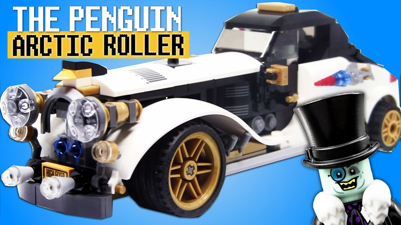The Penguin Arctic Roller Lego Batman Movie Set 70911 Stop Motion Build Video Https Youtu Be 5gxkp Qalse Lego Batman Movie Batman Movie Lego Batman