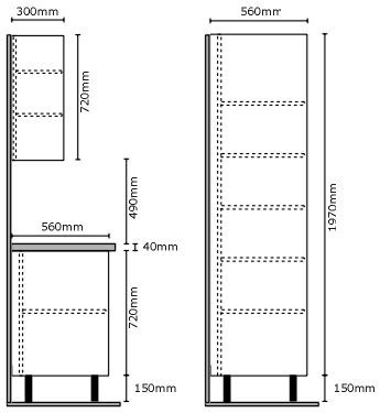 Image result for uk dimensions for kitchen unit layout | Kitchens ...