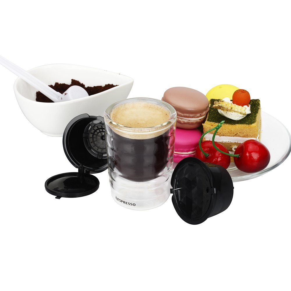 RECAPS Reusable Dolce Gusto Coffee Capsules Refillable