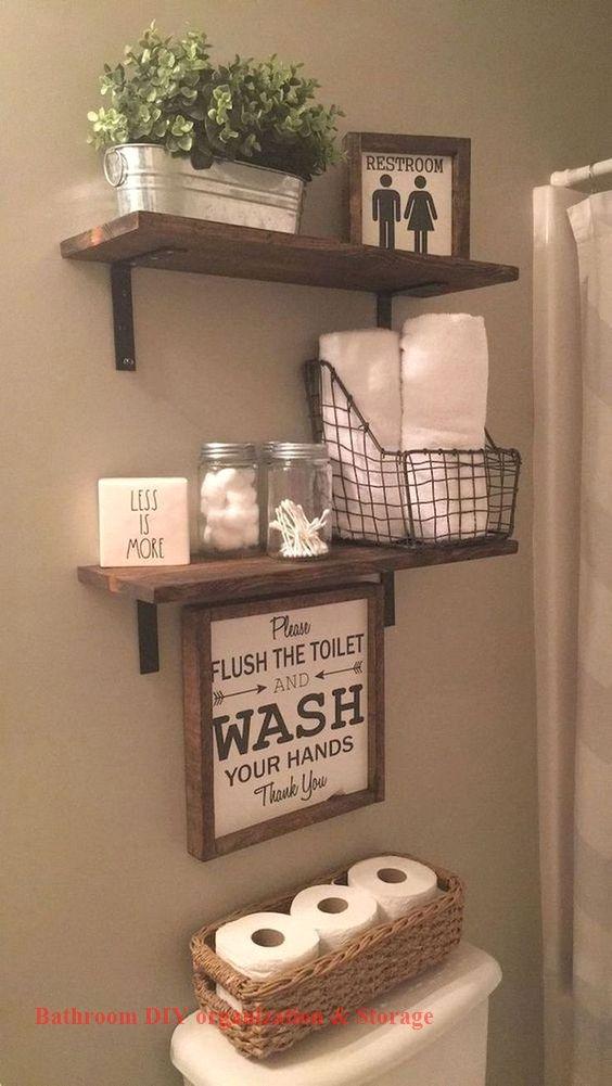 Photo of 13 Kreative Badezimmerorganisation und DIY-Lösungen