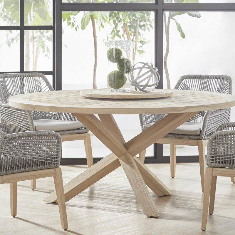 Osman Outdoor Round Dining Table in 2018 Patio Pinterest