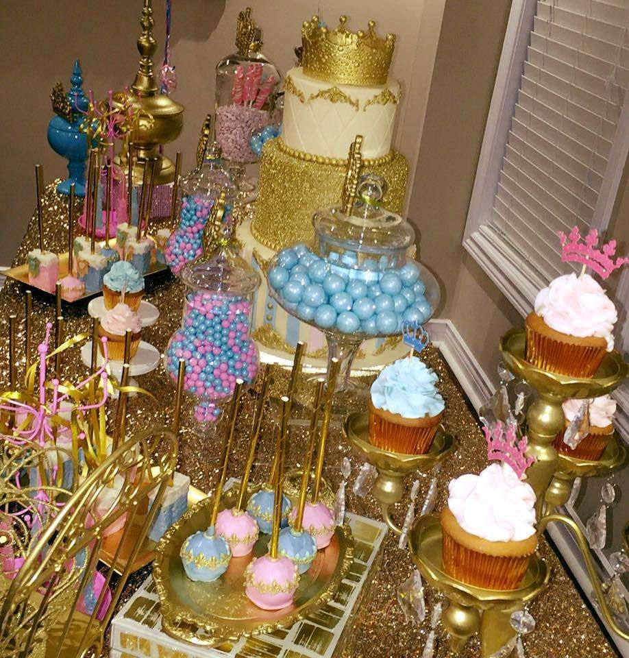 GENDER REVEAL ROYAL PARTY Baby Shower Party Ideas