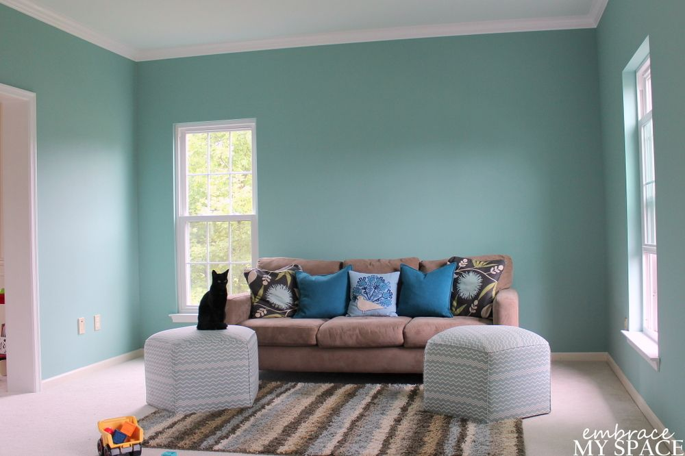 Covington Blue Paint By Benjamin Moore
