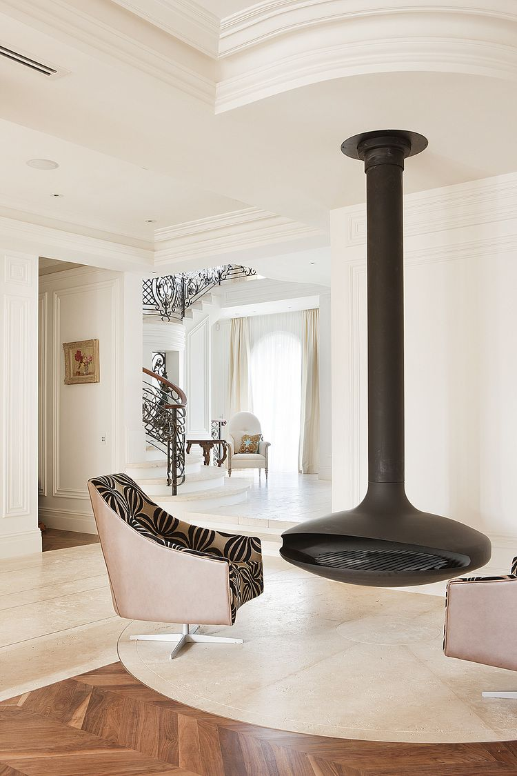 Residential Interior Design: French Provincial - Brighton Residence