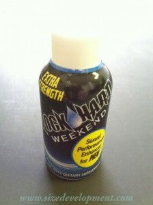 Male sexual enhancement drinks
