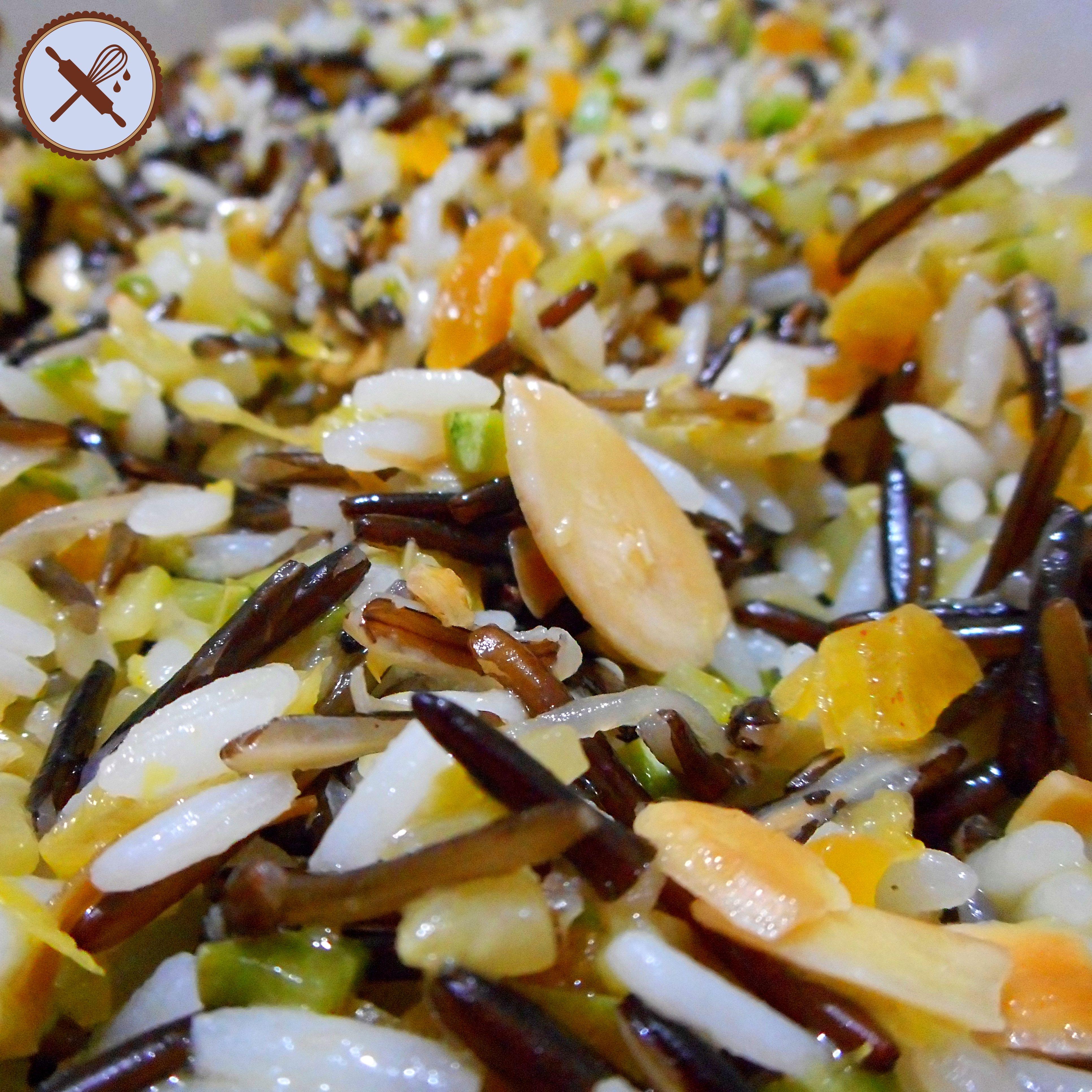 Arroz Mediterraneo Salada De Arroz Selvagem Com Limao Siciliano
