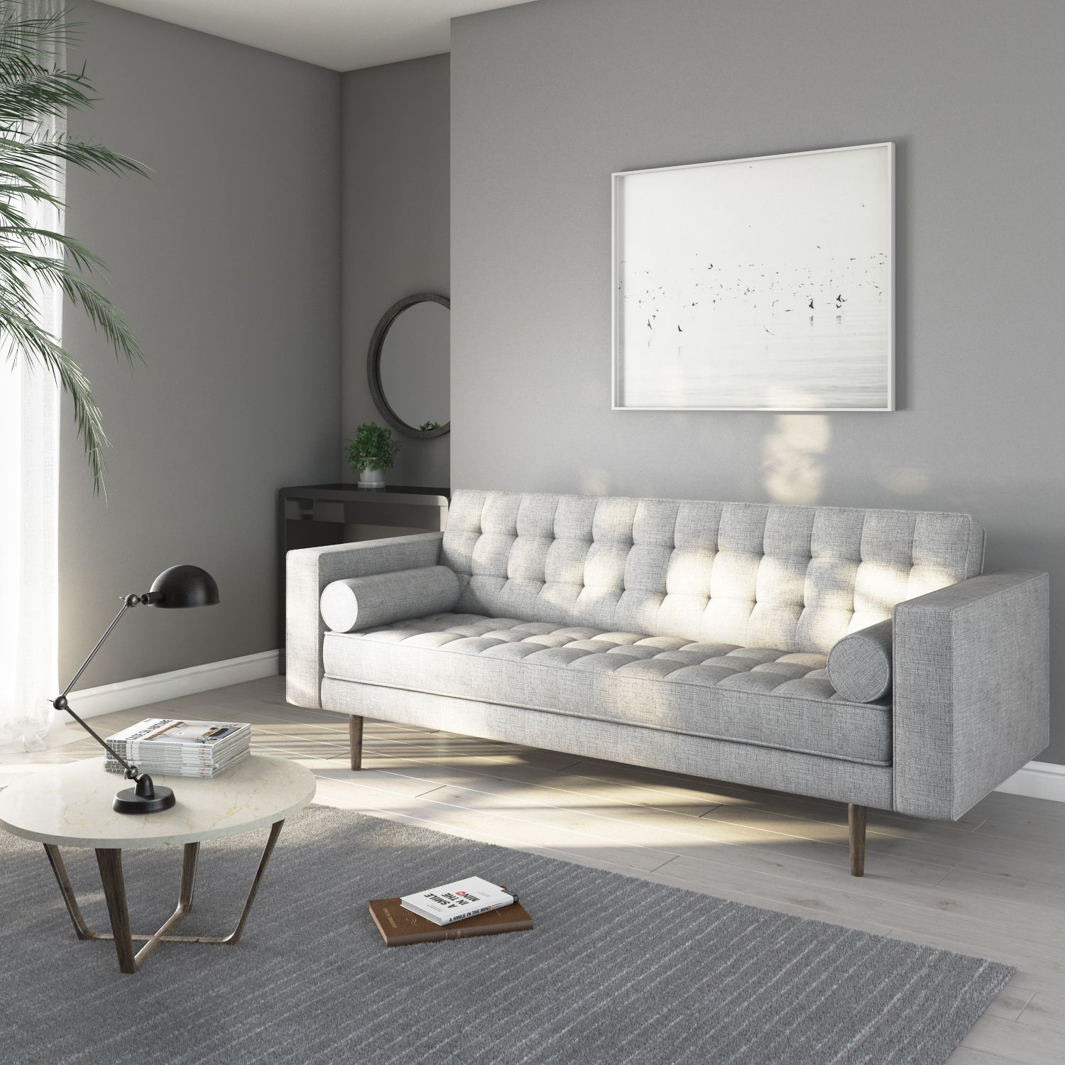 New In Elba Taupe 3 Seater Sofa Sof022 Grey Sofa Living Room Cushions On Sofa Light Gray Sofas #taupe #couch #living #room