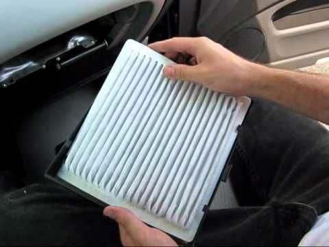 Cabin Air Filter Replacement  Toyota Highlander