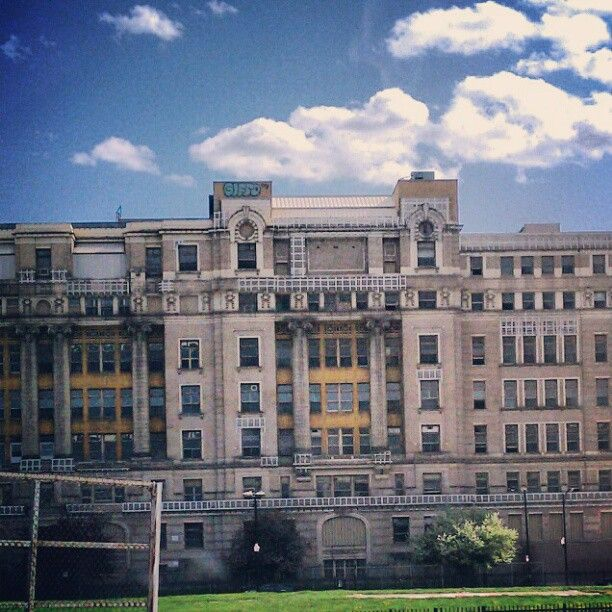 Abandoned Buildings In Amsterdam Ny: Old Cook County Hospital. Place Of My Birth In 1962