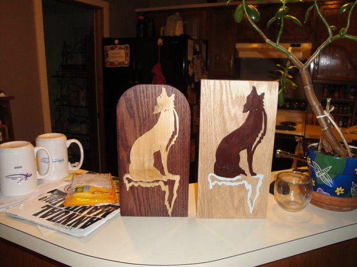 wolves in white oak
