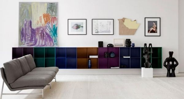 wohnzimmer einrichten m bel von montana wohnwand home pinterest interieur und huiskamer. Black Bedroom Furniture Sets. Home Design Ideas