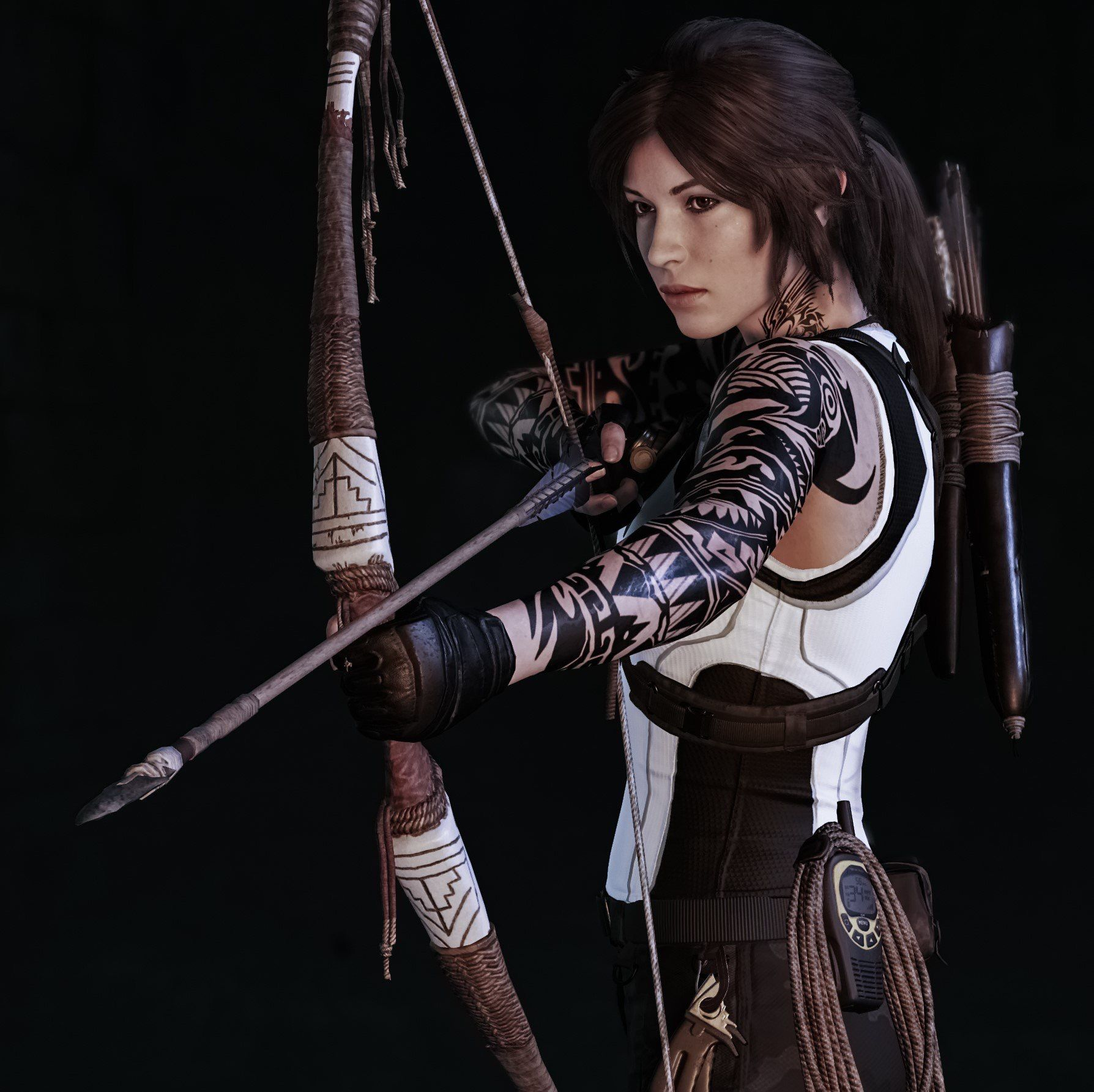 Wallpaper Lara Croft Shadow Of The Tomb Raider Concept: Mommy Croft #tombraider #laracroft