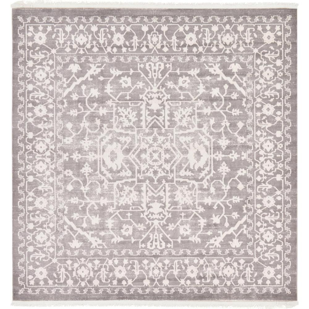 Unique Loom New Classical Olympia Purple 3 3 X 5 3 Area Rug 3129962 2020 Hali